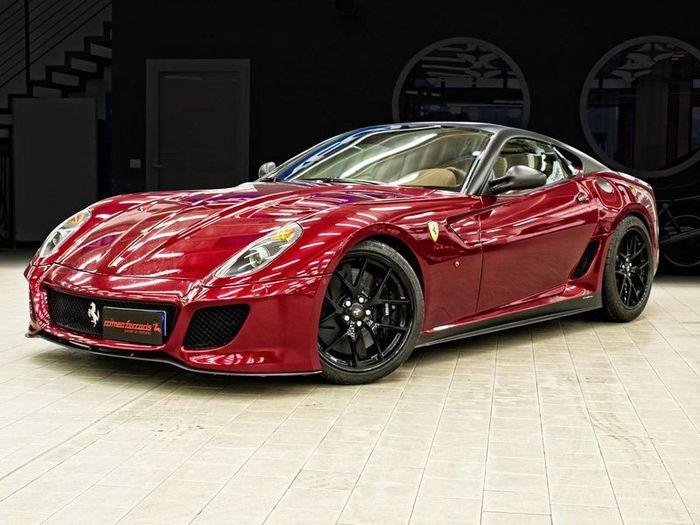В ателье Romeo Ferraris подготовили программу тюнинга для Ferrari 599 GTO (5 фото+видео)