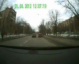 Злорадные водитель и пассажир