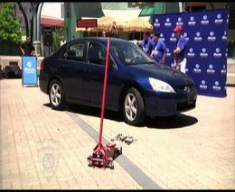 Разобрали кузов Honda Accord за 8м19сек