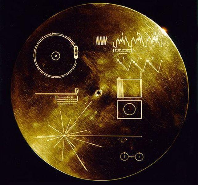 Золотая пластинка Вояджера (126 фото)