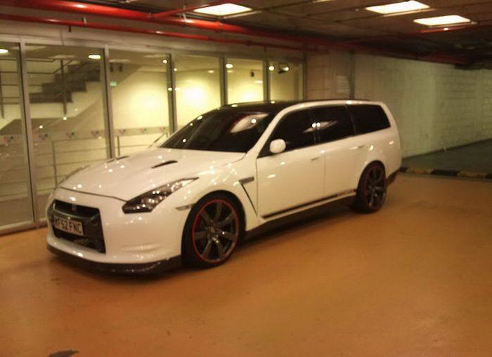 Nissan GT-R Station Wagon был найден в Португалии (2 фото)