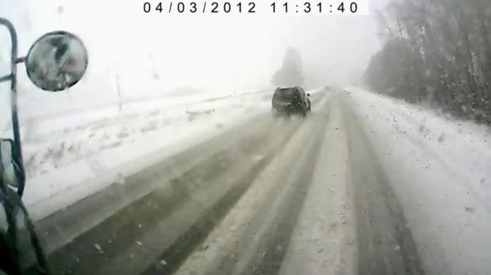 Авария дня часть 528 (фото+видео)