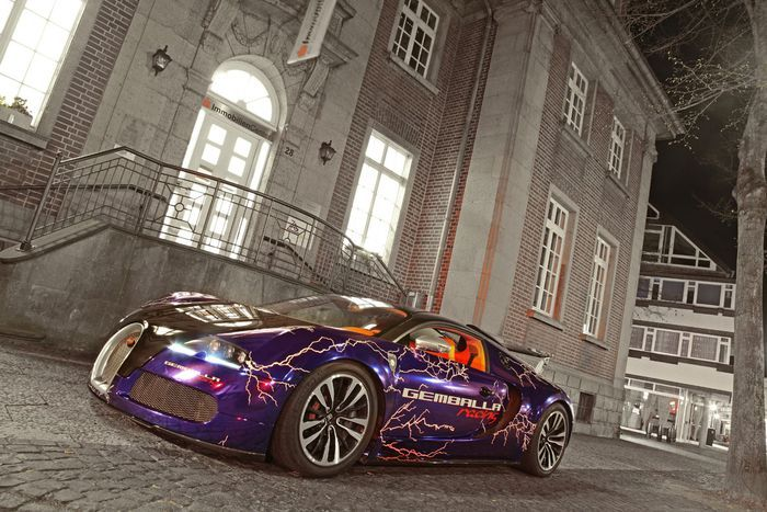 Gemballa Racing выпустила оригинальную Bugatti Veyron Sang Noir (20 фото)