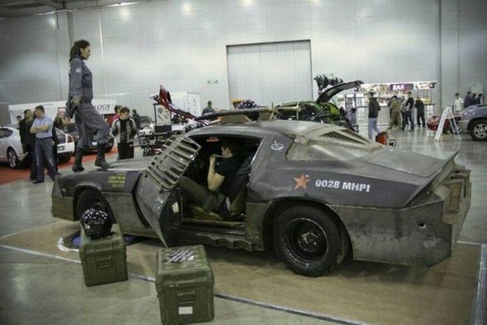Chevrolet Camaro в бронированном костюме (24 фото)