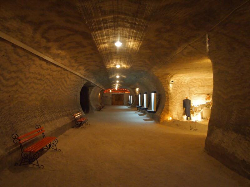 соледар соляные шахты фото древние времена практически