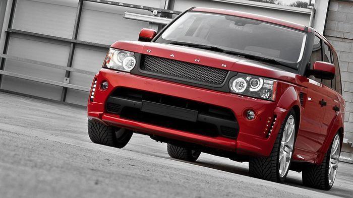 В ателье Project Kahn представили красный Range Rover (9 фото)