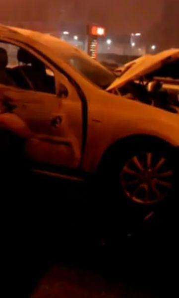 Столичная полиция вновь устроила Живой щит из автовладельцев на МКАД (2 видео)