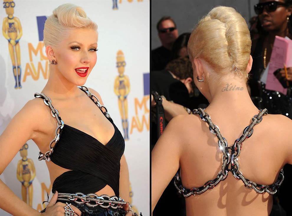 Мария мур татуировки на груди