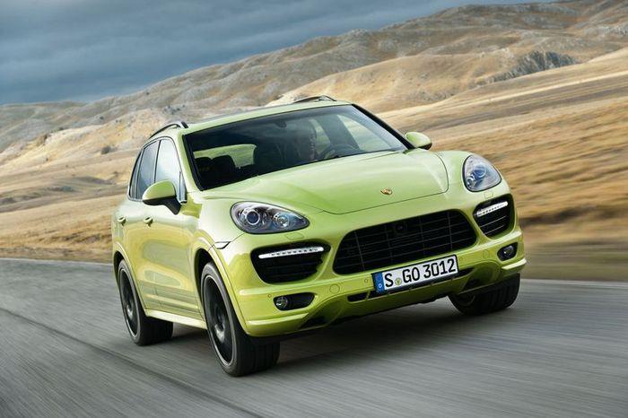 Компания Porsche презентует новую модель Cayenne GTS (5 фото+видео)
