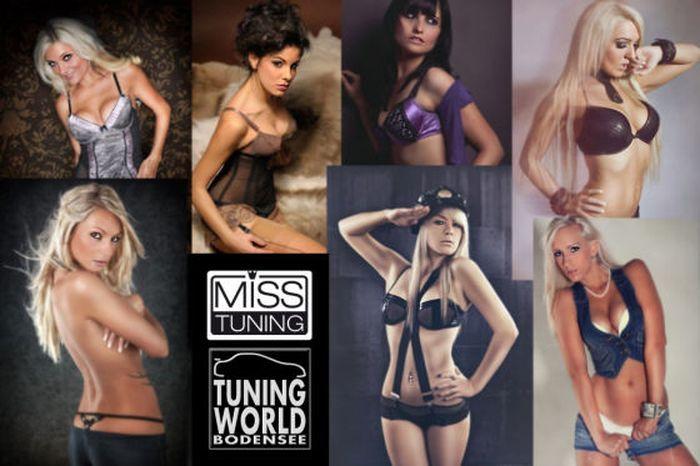 Топ-20 девушек - конкурсанток на звание Miss Tuning 2013 (20 фото)