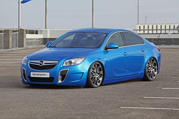 Opel Insignia OPC в тюнинге от MR Car Design (13 фото)