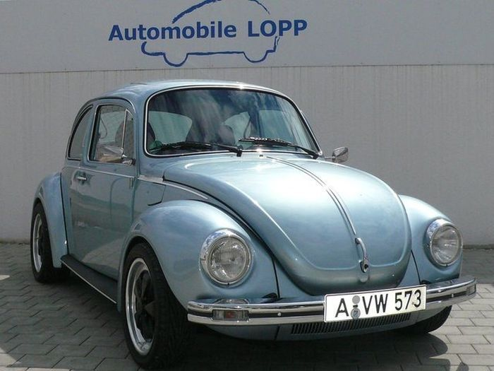 Volkswagen Beetle с сердечком от спортивной машины (14 фото)