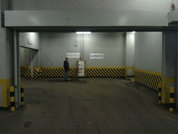 ТП 85-левела на подземной парковке (3 фото)