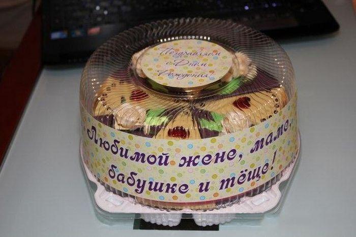 Несъедобный торт своими руками (12 фото)