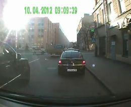 Авария с полицейским УАЗиком