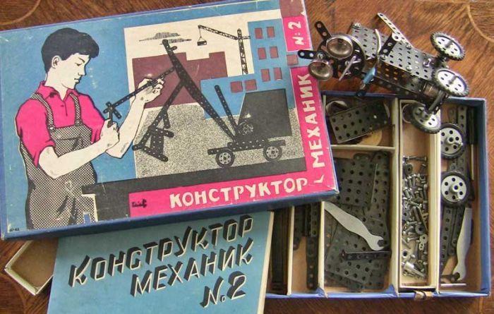 Советские настольные игры и конструкторы (20 фото)