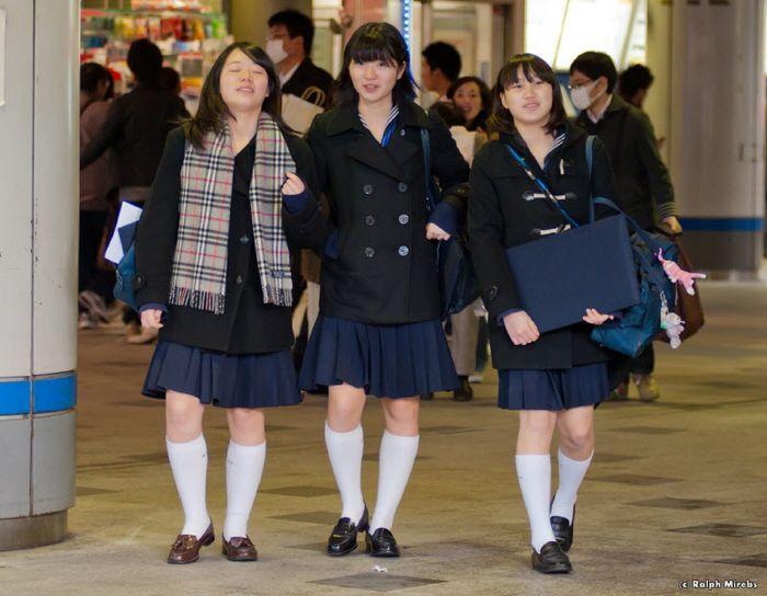 Японские школьницы (31 фото)