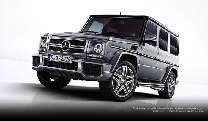 Первые фотографии Mercedes-Benz G63 AMG (5 фото)