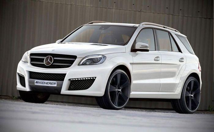 Mercedes-Benz M-Class Impact от ателье Kicherer (2 фото)