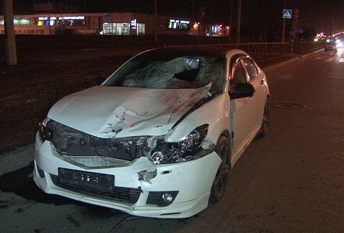 Хонда пьяного полицейского убила семью (15 фото+видео)