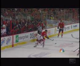 Жесткий стык в хоккее