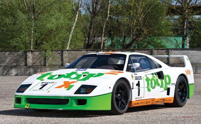 Гоночный прототип Ferrari F40 продадут на аукционе (16 фото)