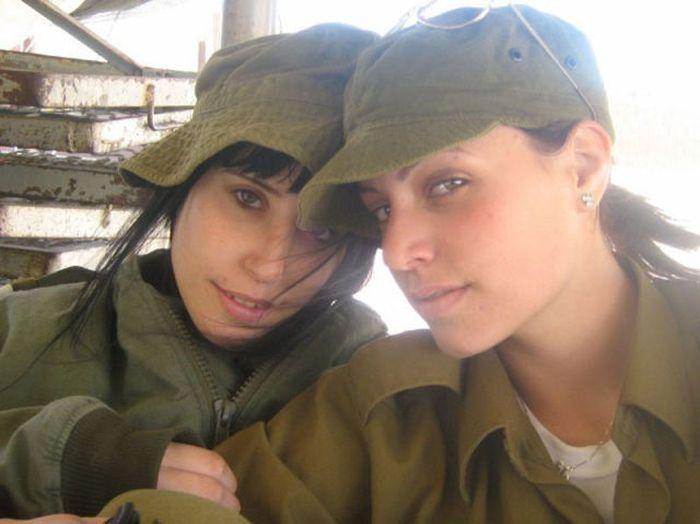 Девушки армии Израиля. Часть 3. (70 фото)