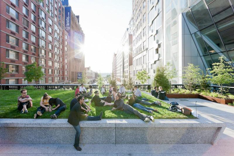 Парк Хай-Лайн в Нью-Йорке (26 фото)