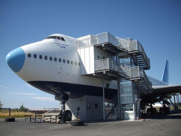 Отель Боинг-747 (14 фото)