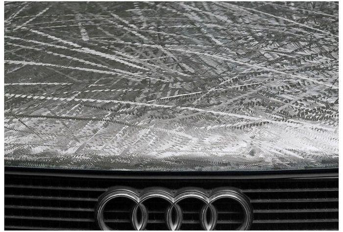 Необычный подход к искусству на автомобильных деталях (23 фото)