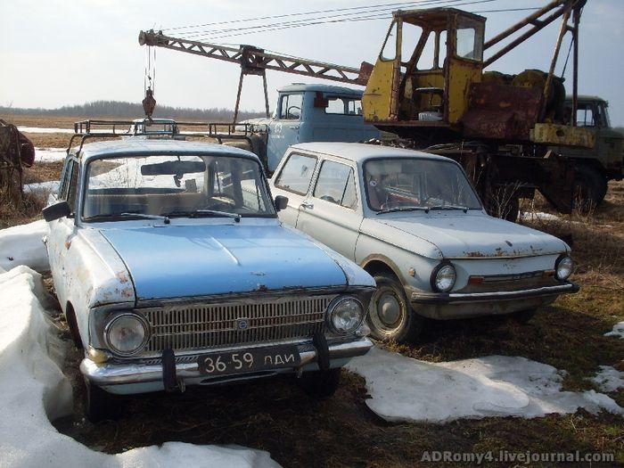 Кладбище автомобилей в россии фото
