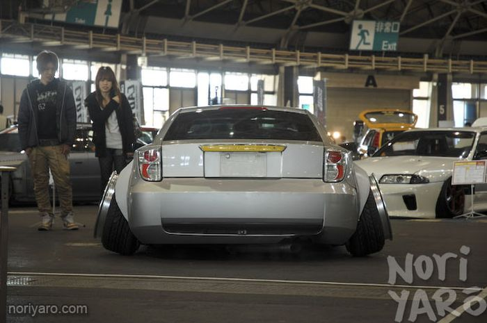 Беспощадный японский тюнинг Toyota Celica (6 фото+видео)