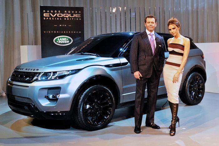 Range Rover Evoque в спецсерии Victoria Beckham Edition (33 фото+видео)