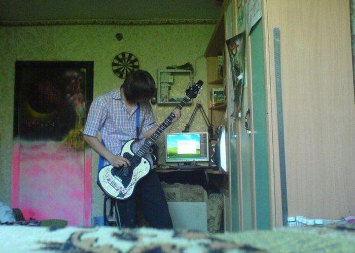 Гитара своими руками (12 фото)