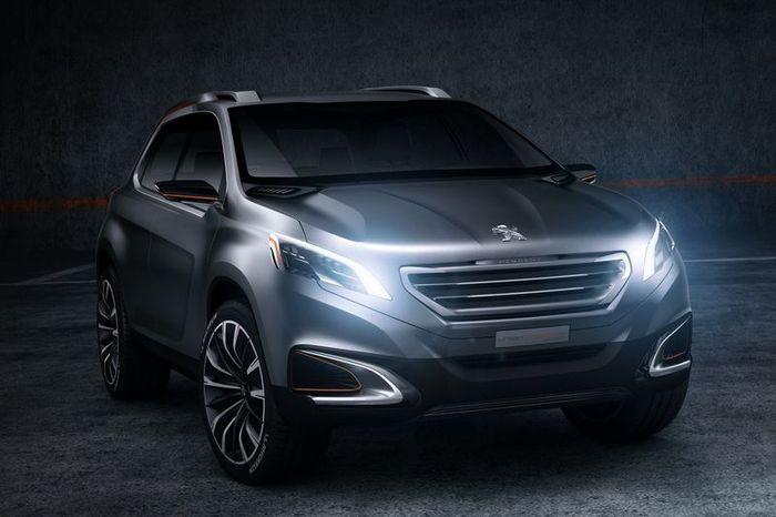 Peugeot Urban Crossover Concept - новинка от французского производителя (20 фото+видео)