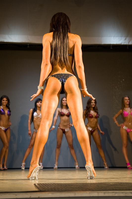 Bikini fitness girls model contest 12