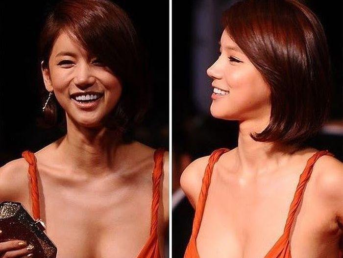 Скандальное платье корейской актрисы О Ин Хё (16 фото)