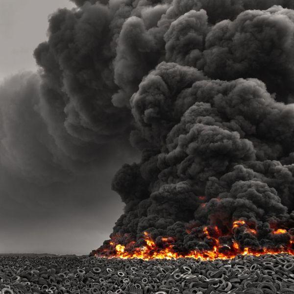 Экологическая катастрофа в Кувейте (7 фото + 1 видео)