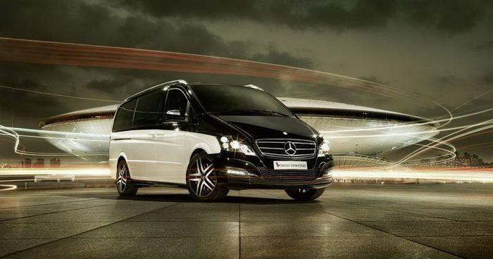 Viano Vision Diamond - роскошный бизнес-авто от Mercedes-Benz (3 фото)