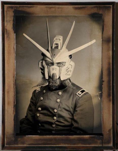 Винтажные портреты супергероев викторианской эпохи (18 фото)