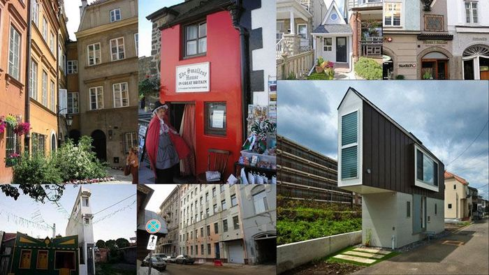 Самые маленькие дома в мире (12 фото)