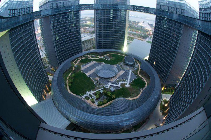 Свежий фотоприкол здание, комплекс, красивое фото, круто