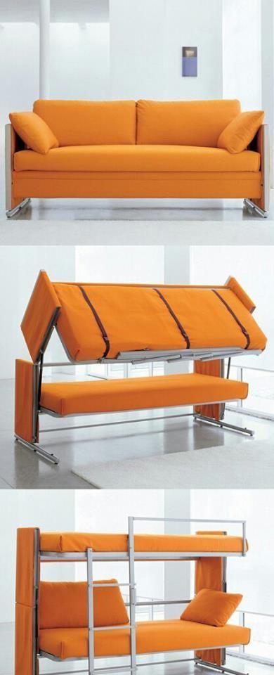 Фото двухэтажная, диван, кровать, трансформер