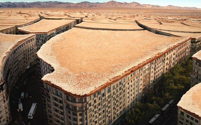 Отпадные фотки город, крутая фотка, пустыня, улицы