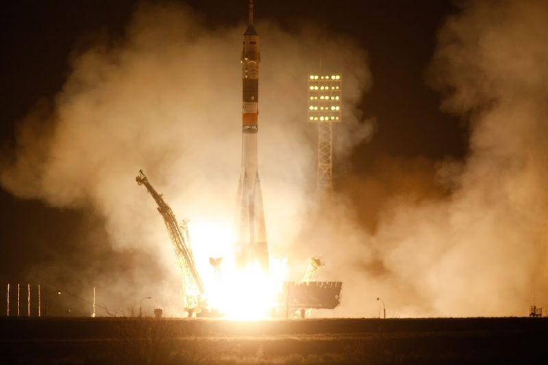 байконур, ракета, запуск
