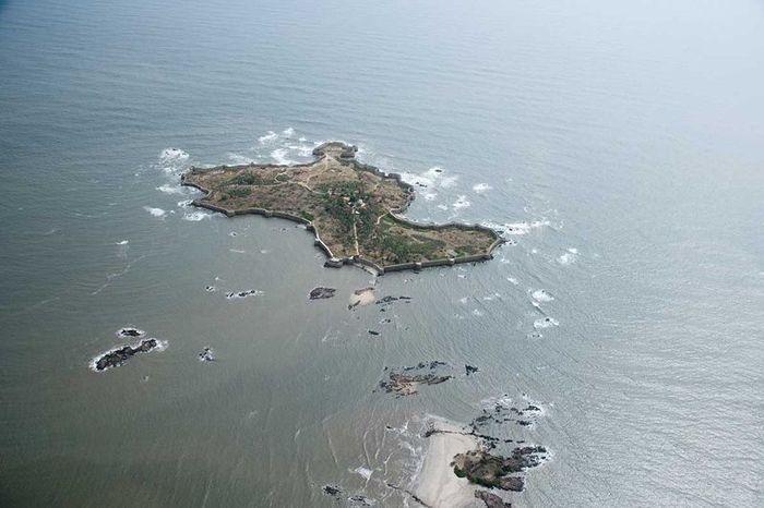 остров, форт, берег, правитель