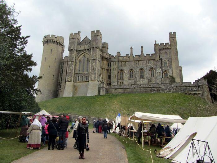 арундельский замок, путешествие, фотография,