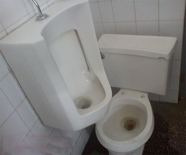 Фотоприкол фото ванная комната, писсуар, туалет