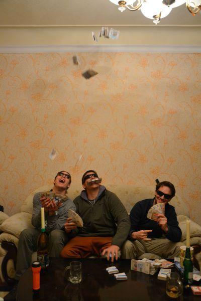 Смешная фотогалерея деньги, друзья, купюры