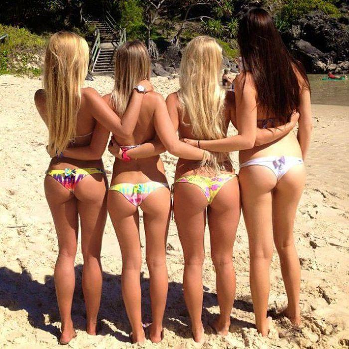 Фото сексапильных девушек на пляже, порно симпатяшка с большой попой